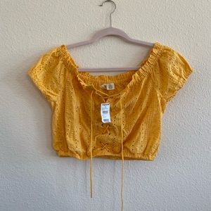 Tilly's Yellow Blouse